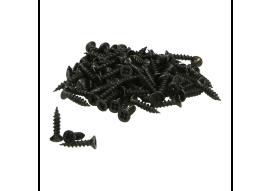 Schroeven voor alu prof. zwart 3x16 - 250 st.