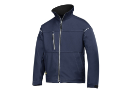 Soft Shell Jacket donker blauw XL