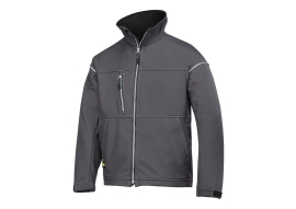 Soft Shell Jacket staal grijs XL