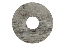 Zelfkl. rozet (17 mm) Castle Oak l. grey (10 st.)