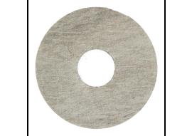 Zelfkl. rozet (17 mm) Country Oak grey (10 st.)
