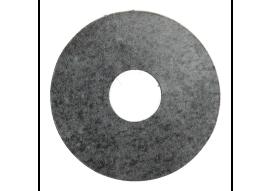 Zelfkl. rozet (17 mm) metallic slate (10 st.)