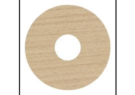Zelfkl. rozet (17 mm) new england oak (10 st.)