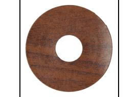 Zelfkl. rozet (17 mm) newport mahonie (10 st.)