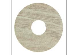 Zelfkl. rozet (17 mm) rustiek pine (10 st.)