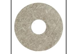 Zelfkl. rozet (17 mm) Sel. Cantera grey (10 st.)
