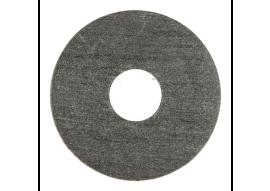 Zelfkl. rozet (17 mm) vulcaan eiken (10 st.)