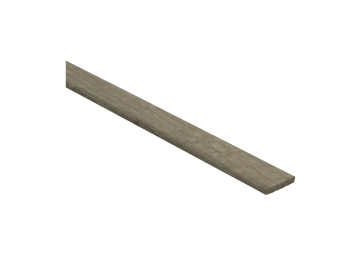 Afwerklijst 6x28 mm eiken dubbel gerookt grijs geolied