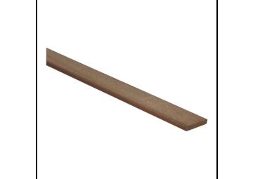 Afwerklijst 6x28 mm mahonie onbewerkt