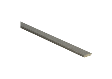 Plakplint titanium eik 5x24 mm