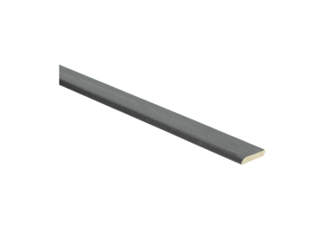 Plakplint trendy zwart 5x24 mm