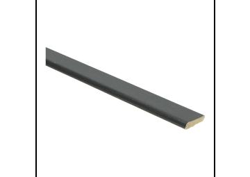 Plakplint zwart 5x24 mm