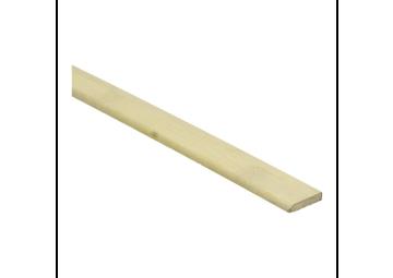 Bamboe afwerklijst 5x25 mm naturel geolied