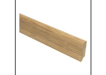 Bamboe plint 50x15 mm caramel onbewerkt