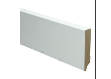 BL MDF plint 90x18 V313 wit gegrond recht