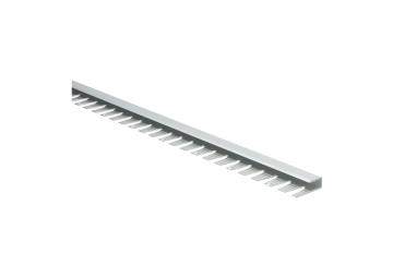 Buigbaar U-profiel 7 mm alu zilver