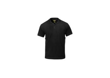 Classic poloshirt zwart maat XL