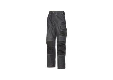 Denim/jeans werkbroek maat 46