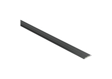 Dilatatieprofiel zelfklevend 25 mm alu zwart