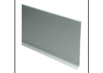 Elegante aluminiumplint 100x10 mm