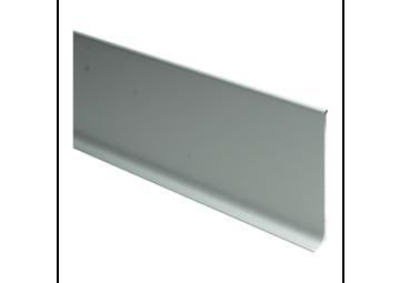 Elegante aluminiumplint 80x10 mm