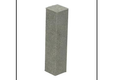 Hoek of eindstuk folie 4 stuks Concrete grey