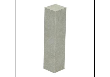 Hoek of eindstuk folie 4 stuks Valley Stone light grey