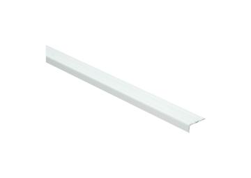 Hoeklijnprofiel zelfkl. 10 mm wit