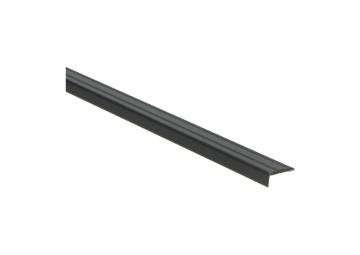 Hoeklijnprofiel zelfkl. 10 mm zwart