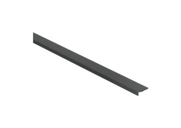 Hoeklijnprofiel zelfkl. 4 mm tbv PVC klik zwart