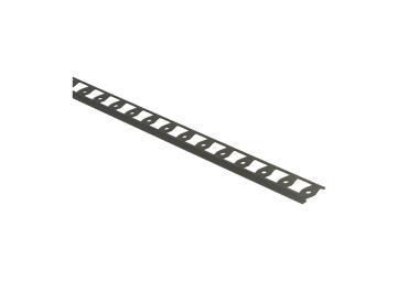 In-egaliseer eindprofiel tot 4,5mm PVC brons