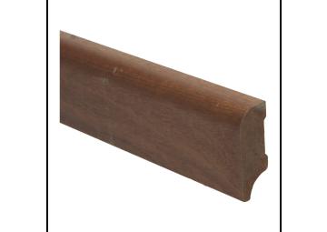 Koloniale plint 58x22 mm mahonigelakt