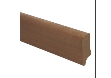 Koloniale plint 58x22 mm mahoni onbehandeld
