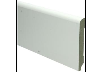 MDF Koloniale plint 120x15 wit voorgelakt RAL 9010