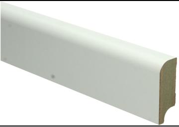 MDF Koloniale plint 58x22 wit voorgelakt RAL 9010