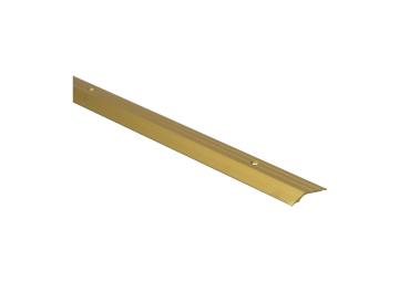 Overgangspr. schroef  5 mm alu goud