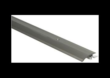 Overgangsprofiel Kuberit PVC klik 4-9,5 mm RVS