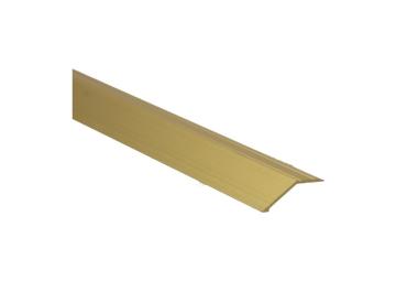 Overgangsprofiel zelfkl. 14 mm alu goud