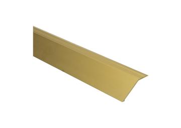 Overgangsprofiel zelfkl. 22 mm alu goud