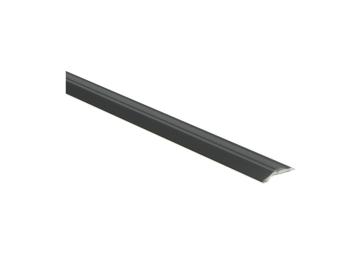 Overgangsprofiel zelfkl. 5 mm alu zwart