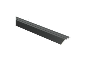 Overgangsprofiel zelfkl. 8 mm alu zwart