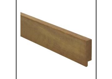 Rechte plint 54x15 mm kambala geolied