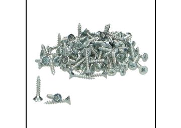 Schroeven voor alu prof. zilver 3x16 - 250 st.