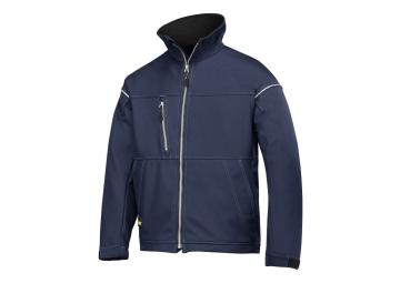 Soft Shell Jacket donker blauw L