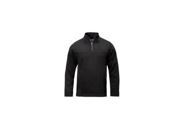 Sweater met rits zwart maat XXXL