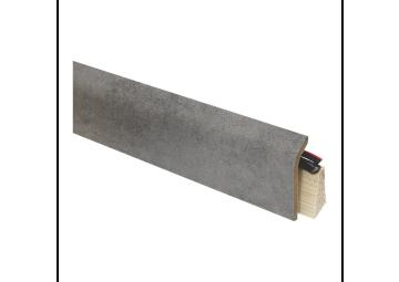 Systeemplint met folie concrete grey
