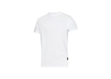 T-shirt wit maat L