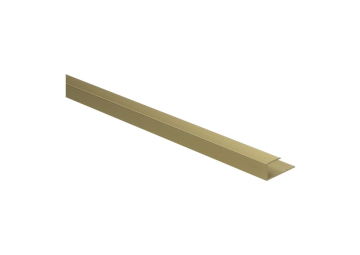 U-profiel 10,1 mm goud