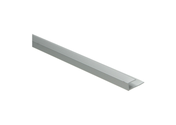 U-profiel 8,1 mm zilver