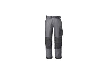 Werkbroek gem. grijs/zwart mt.52
